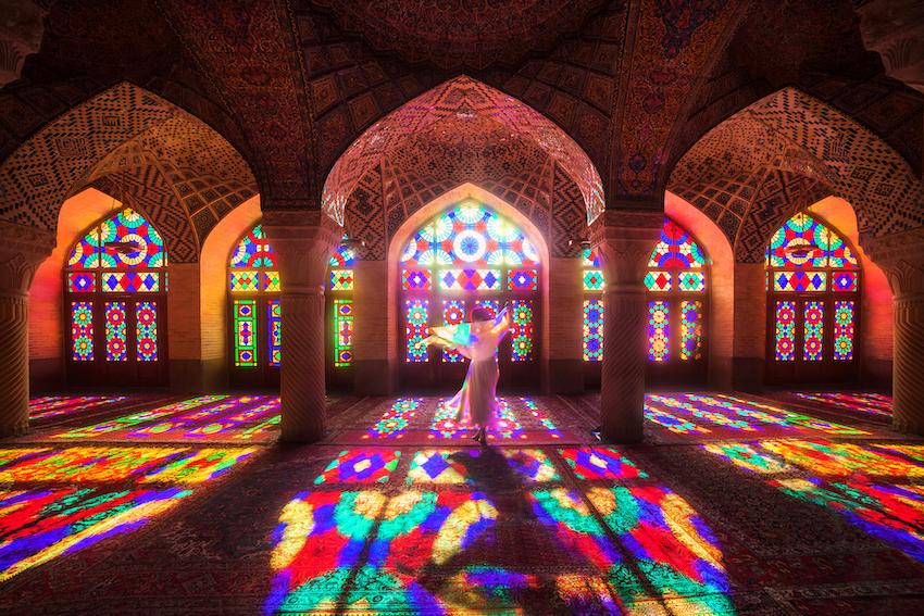 Nasir al Molk; Nasir ol Molk Moschee; Pink Mosque; Shiraz