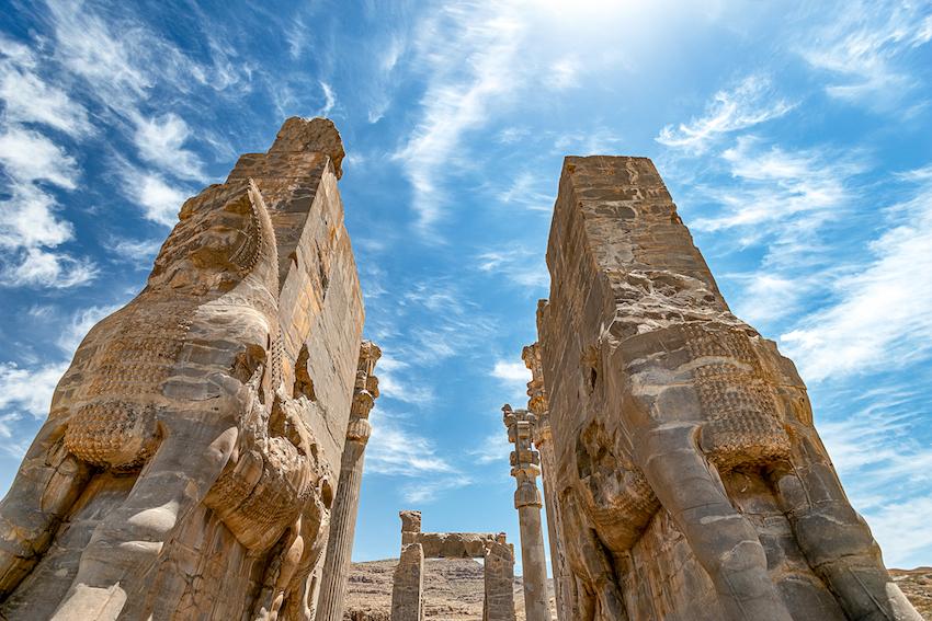 Persepolis, Tor aller Länder, Iran, Shiraz