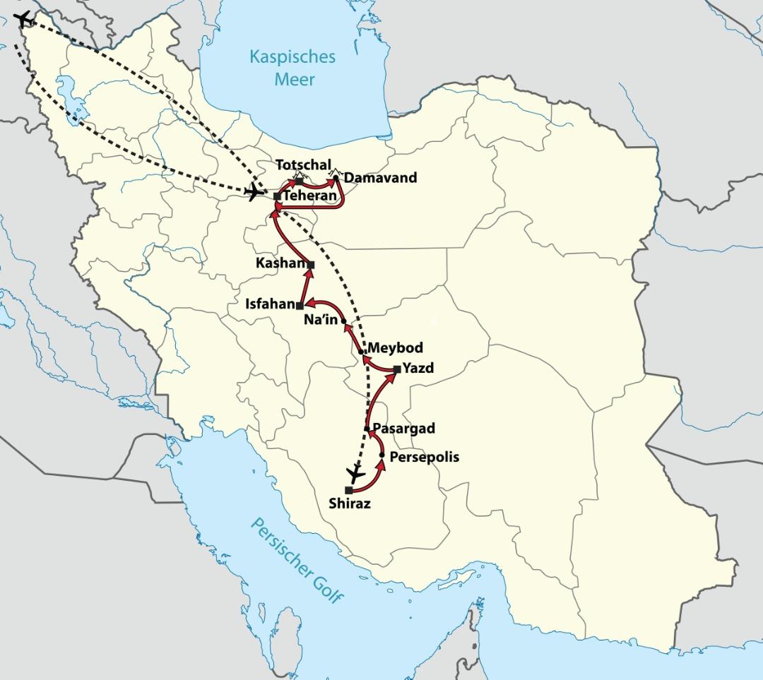 Damavand & Perlen des Iran
