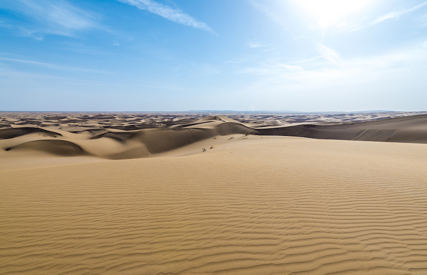 Maranjab; Maranjab-Wüste; Maranjab Desert; Iran; Kashan