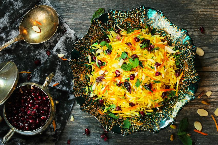 Persische Küche, persische Gerichte, iranisches Essen